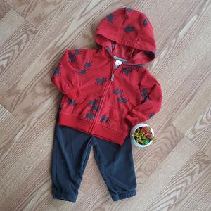 EUC Carters Baby Boy Matching Set